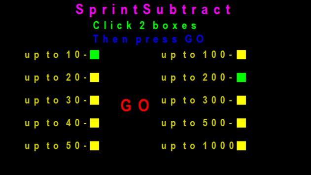 SprintSubtract screenshot 8