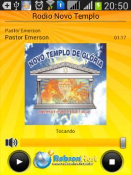 Radio Novo Templo screenshot 1