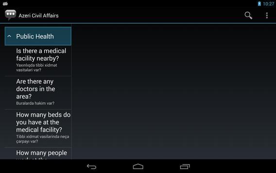 Azeri Civil Affairs Phrases apk screenshot