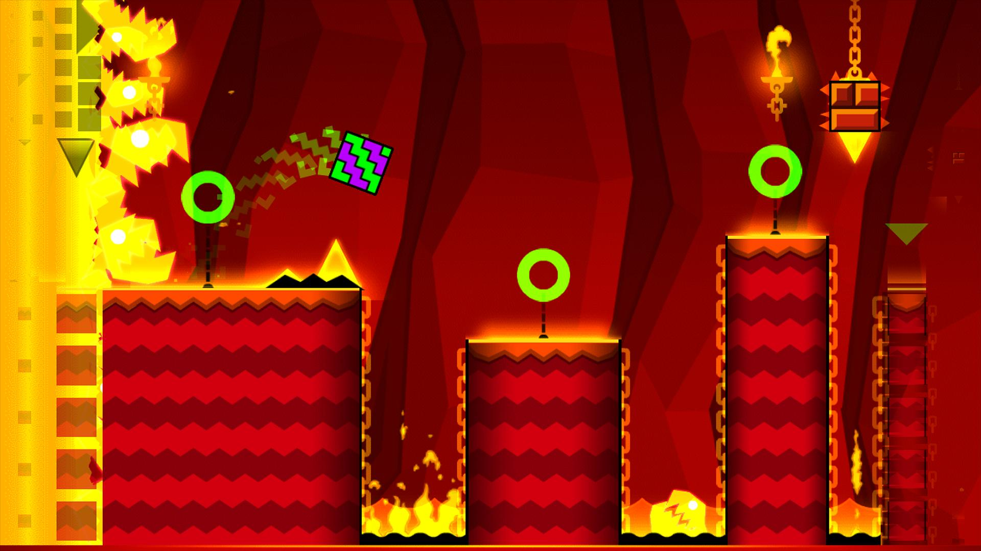 geometry dash meltdown full game apk