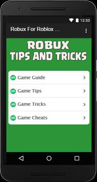 Robux For Roblox Guide screenshot 1
