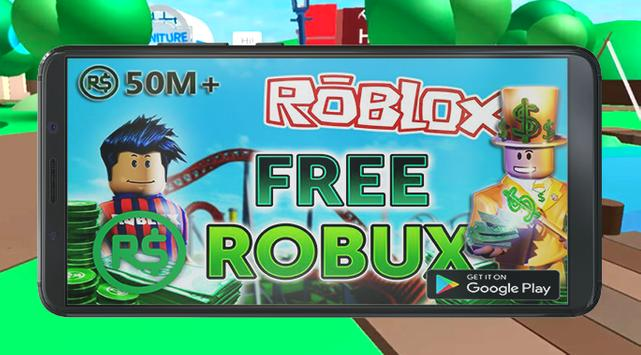 Free Robux For Roblox Guide 2018 poster