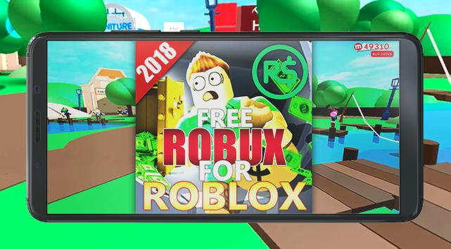 Free Robux For Roblox Guide 2018 screenshot 1