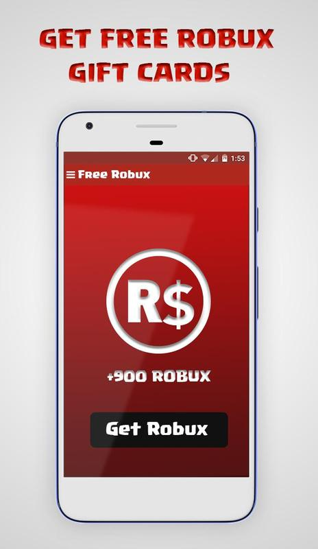 Free Robux : Gift Cards for Android - APK Download