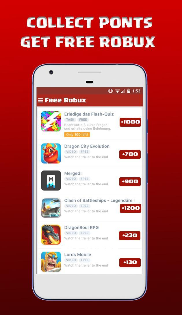 Completely Free Roblox Gift Card Roblox Free Robux 2017 Free Robux Gift Cards For Android Apk Download