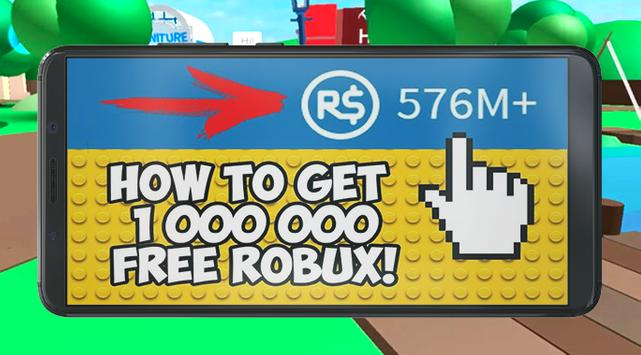 Unlimited Free Robux For Roblox Guide poster