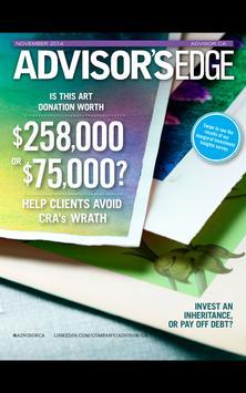 Advisor's Edge Magazine poster
