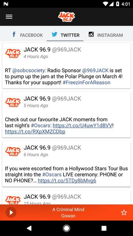 JACK 96.9 Vancouver APK Baixar - Grátis Música e áudio ...