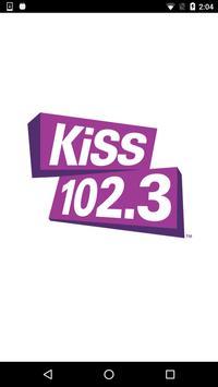 KiSS 102.3 Winnipeg poster