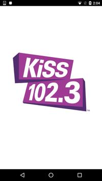 KiSS 102.3 Winnipeg poster