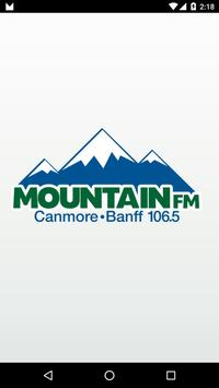 106.5 Mountain FM Canmore poster