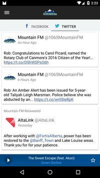106.5 Mountain FM Canmore apk screenshot