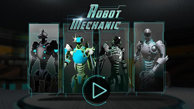 Robot Mechanic Simulator 3D poster