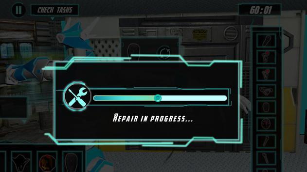 Robot Mechanic Simulator 3D apk screenshot