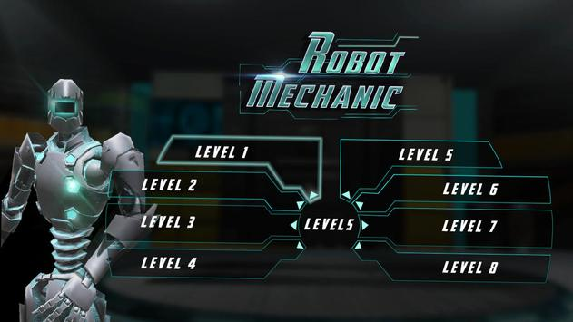 Robot Mechanic Simulator 3D apk screenshot
