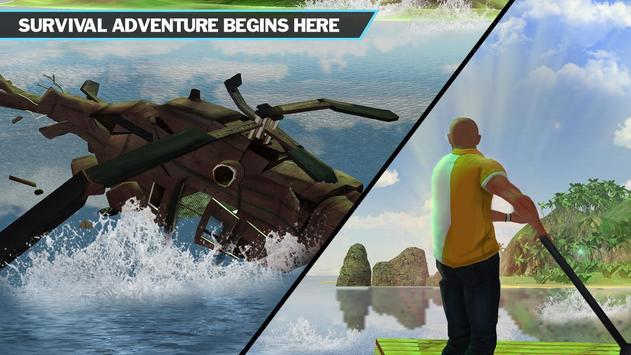 Ocean Raft Survival Simulator apk screenshot
