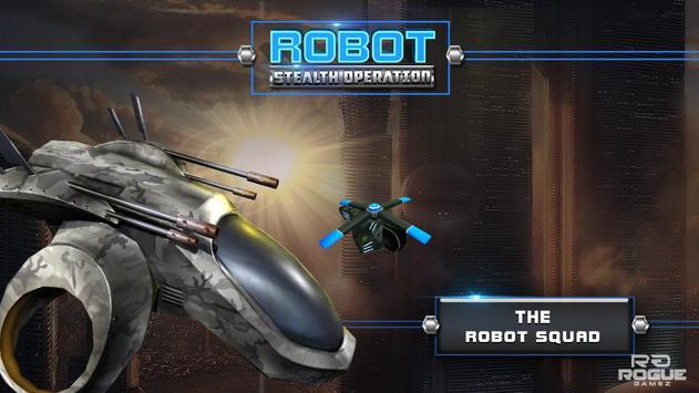 Robot Squad Stealth Spy Games poster