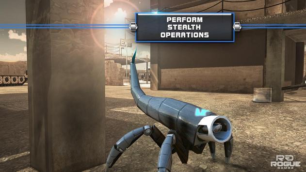 Robot Squad Stealth Spy Games apk screenshot