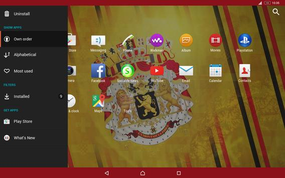 Belgium Theme for Xperia screenshot 4