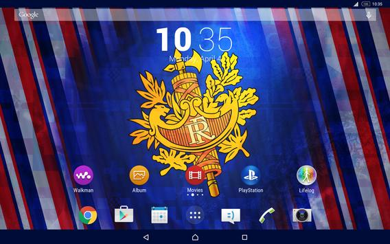 France Theme for Xperia apk screenshot