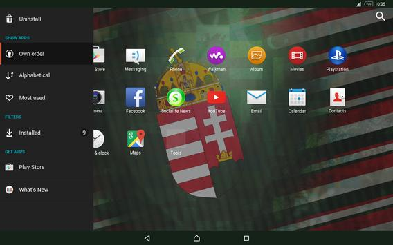 Hungary Theme for Xperia apk screenshot