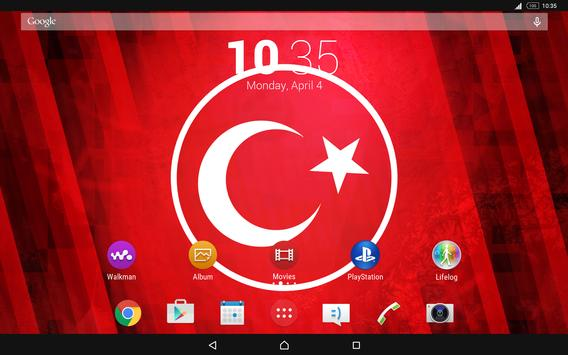 Turkey Theme for Xperia apk screenshot