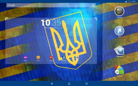 Ukraine Theme for Xperia screenshot 4