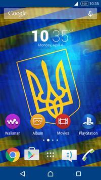 Ukraine Theme for Xperia screenshot 1