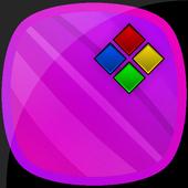 Flow Berry Theme for Xperia icon