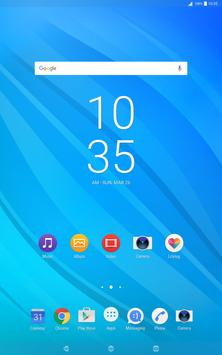 Flow Pacific Theme for XPERIA screenshot 9