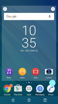 Flow Pacific Theme for XPERIA screenshot 2