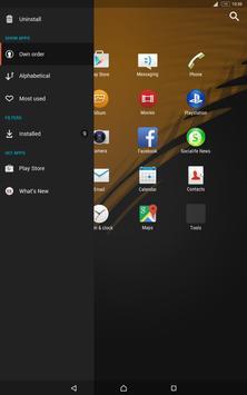 Specter Tropic for Xperia apk screenshot