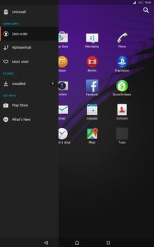Specter Monarch for Xperia apk screenshot
