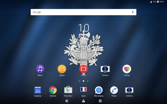 2018 World Cup France Theme for XPERIA apk screenshot