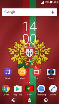 2018 World Cup Portugal Theme for XPERIA poster