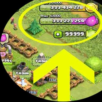 Gem Cheats for Clash of Clans poster