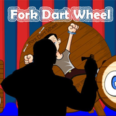fork dart wheel icon