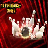 10 Pin KnockDown Free icon