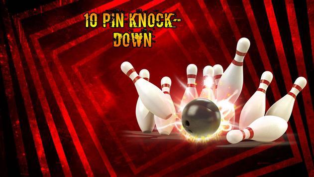 10 Pin KnockDown Free poster