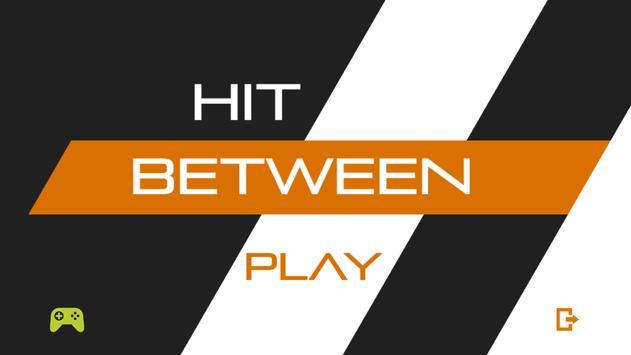 Hit Between poster