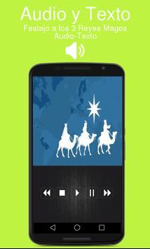 Festejo a los 3 Reyes Magos con Audio poster