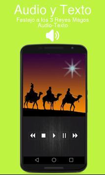 Festejo a los 3 Reyes Magos con Audio screenshot 1
