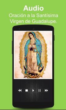 Oracion a la Santisima Virgen de Guadalupe poster