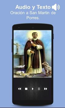 Oracion a San Martin de Porres con Audio screenshot 2