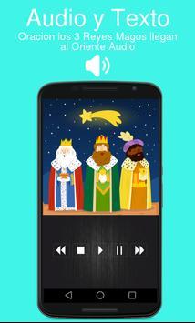 Oracion los 3 Reyes Magos llegan al Oriente Audio poster