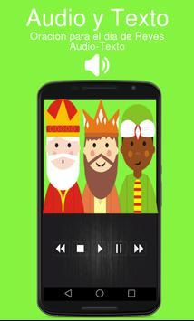 Oracion para el dia de Reyes Audio-Texto poster