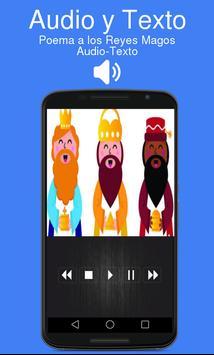 Poema a los Reyes Magos Audio-Texto apk screenshot