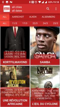 Afrika Filmfestival 2017 poster