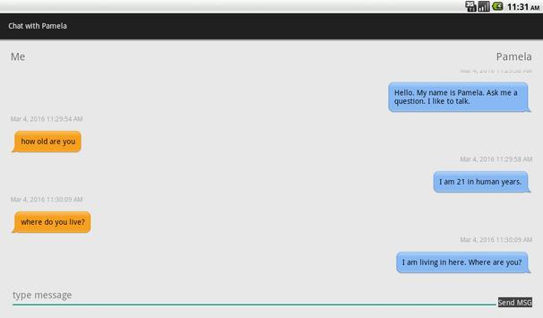 Chatbot Friend apk screenshot
