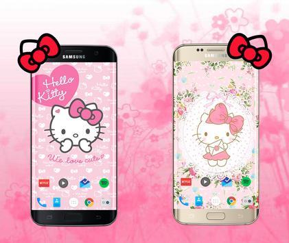 Hello Kitty Wallpaper Poster
